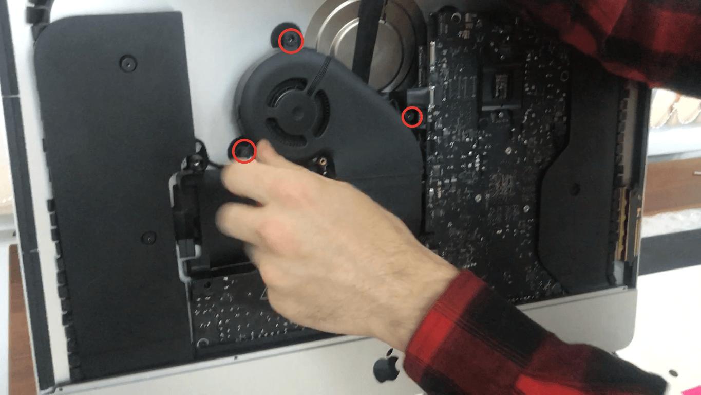 Вентиляция iMac