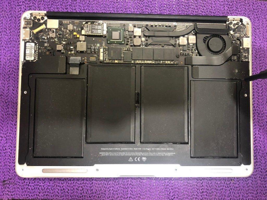Разбор MacBook