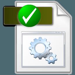 Иконка проверка системный файл