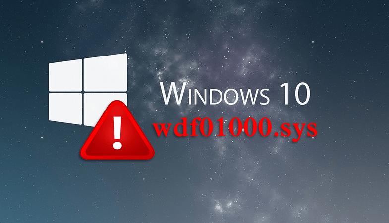 Как исправить ошибку с файлом wdf01000.sys в Windows 10