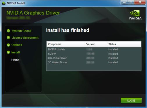 Обновление драйвера видеокарты Nvidia