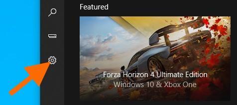 Главное окно приложения «Компаньон консоли Xbox»