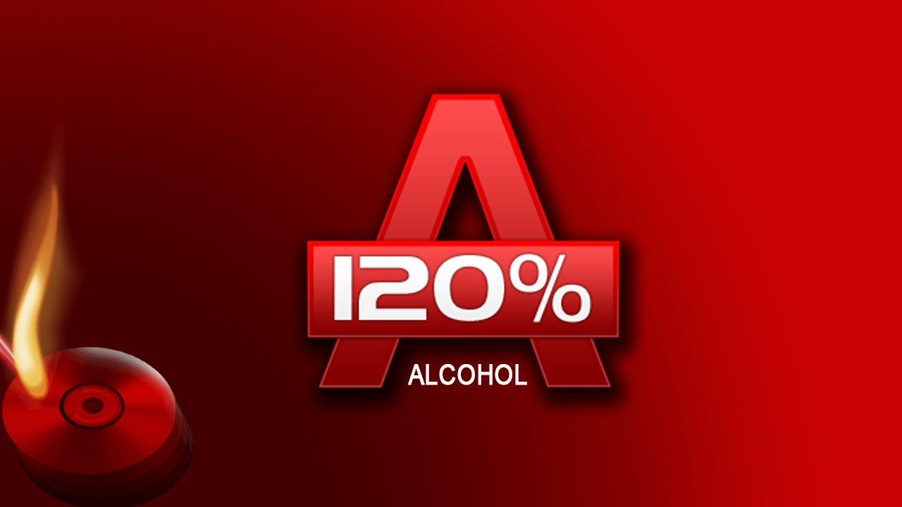 Логотип Alcohol 120%