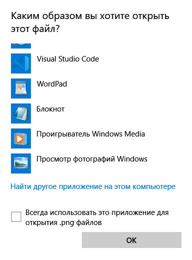 Простор фотографий Windows