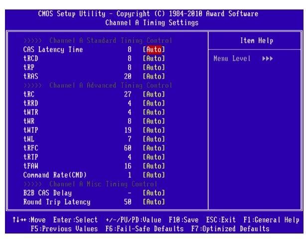 Настройки частоты и вольтажа в BIOS