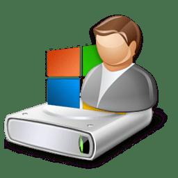 Иконка диск пользователь владелец