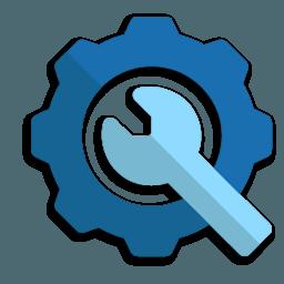 Иконка Настройки ключ шестеренка