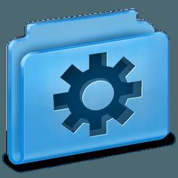 Иконка папка система