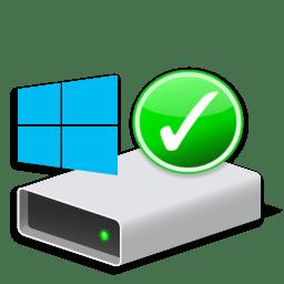Иконка проверка системного диска