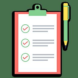 Иконка список вариантов
