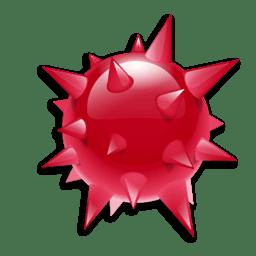 Иконка вирус бомба