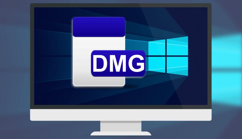 Как открыть файл dmg на Windows 10