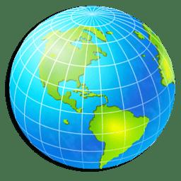 Иконка глобус страны