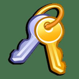 Иконка ключи администратор