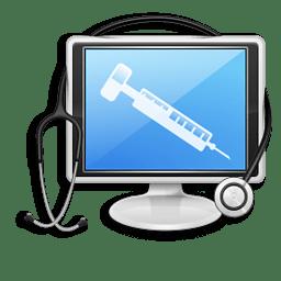 Иконка компьютер лечить