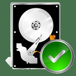 Иконка проверка диска