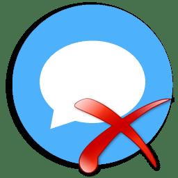 Иконка уведомление сообщение отключить