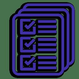 Иконка Варианты список документы