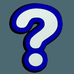Иконка вопрос знак