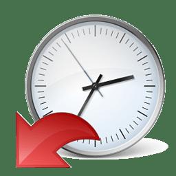 Иконка восстановление сброс часы