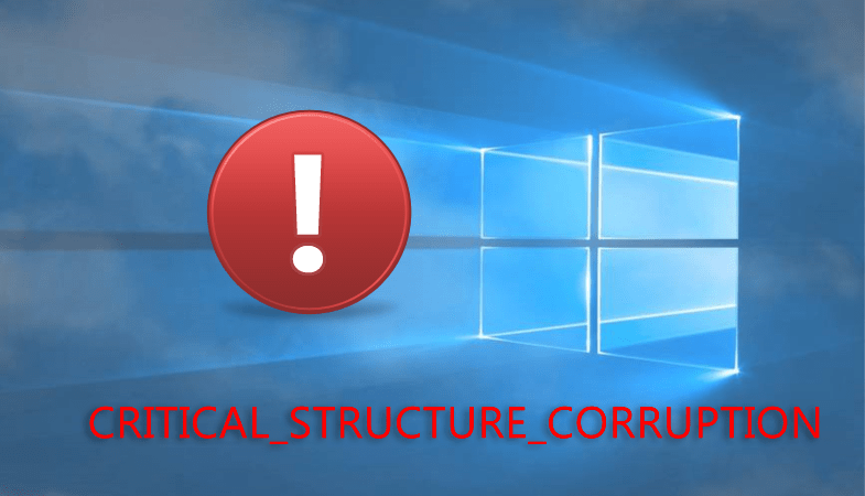 Как исправить CRITICAL_STRUCTURE_CORRUPTION в Windows 10