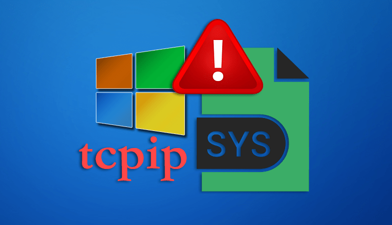 Ошибка tcpip.sys в Windows