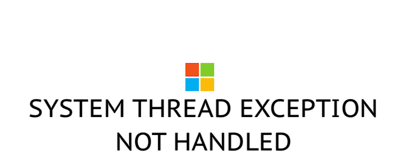 Как исправить SYSTEM THREAD EXCEPTION NOT HANDLED в Windows 10