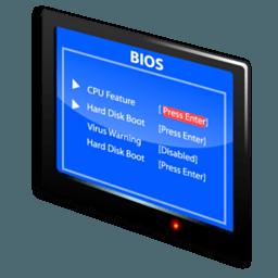 Иконка BIOS настройки