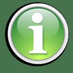 Иконка буква I информация