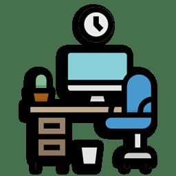 Иконка компьютер стол
