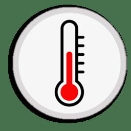 Иконка температура градусник