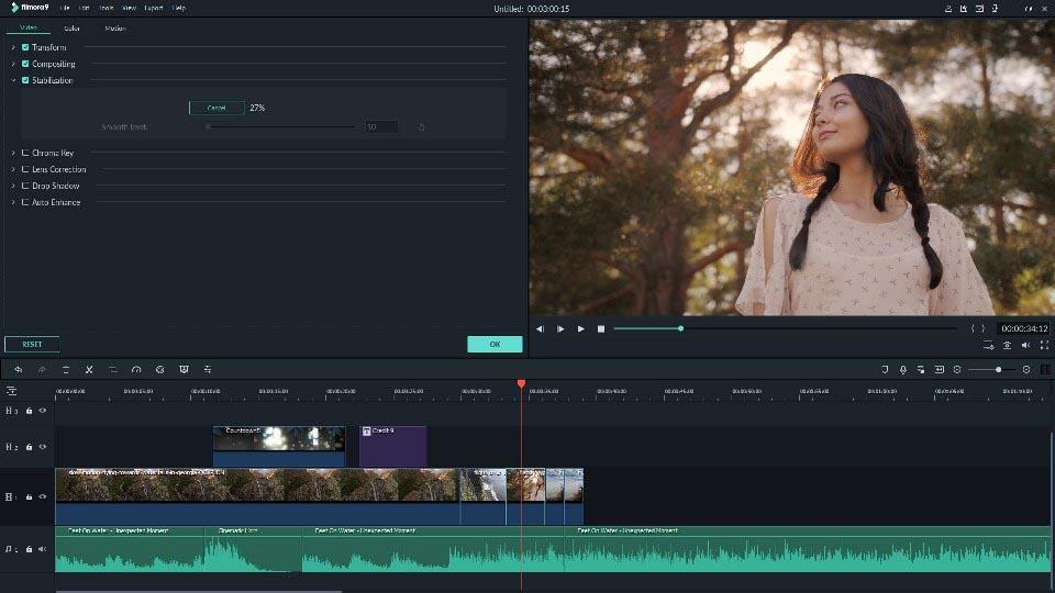 программа Filmora Video Editor