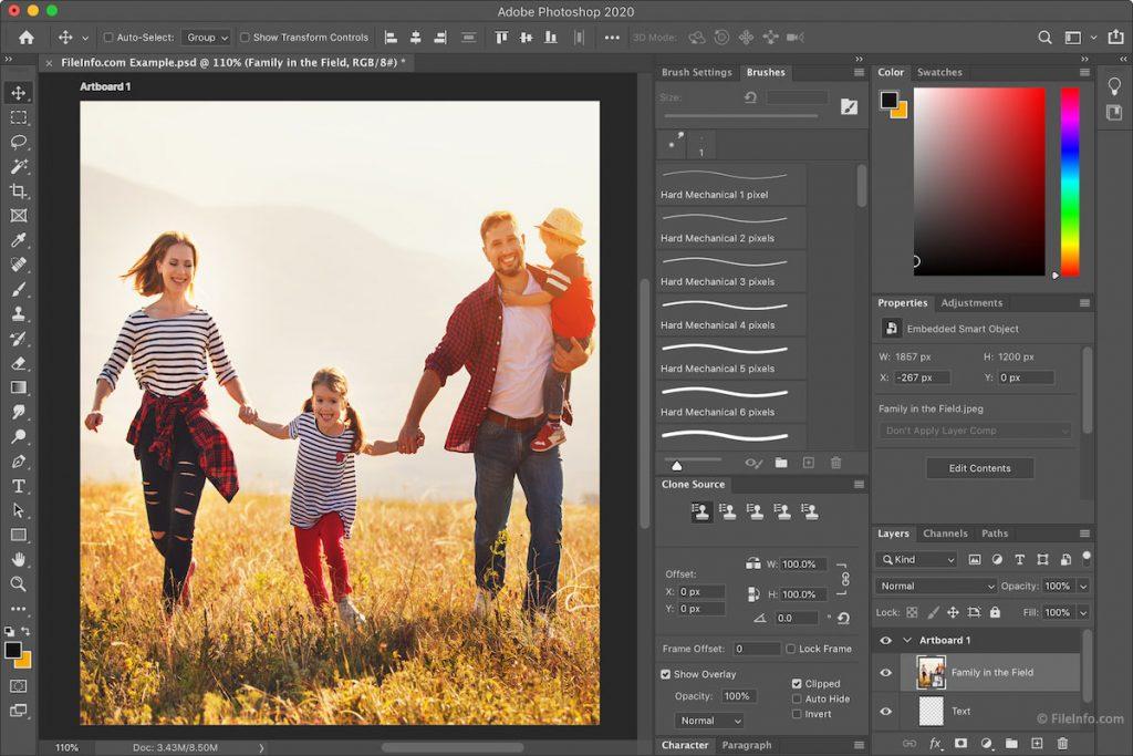 редактор фото для ПК adobe photoshop