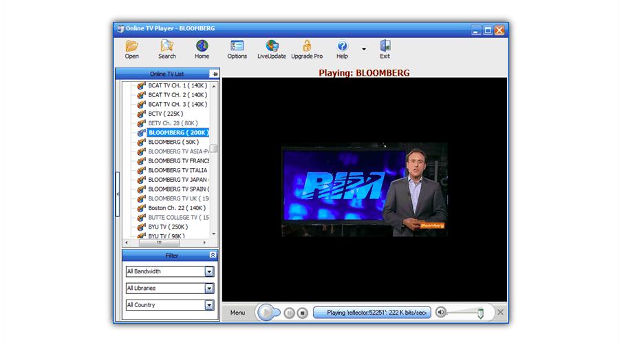 online tv на ПК