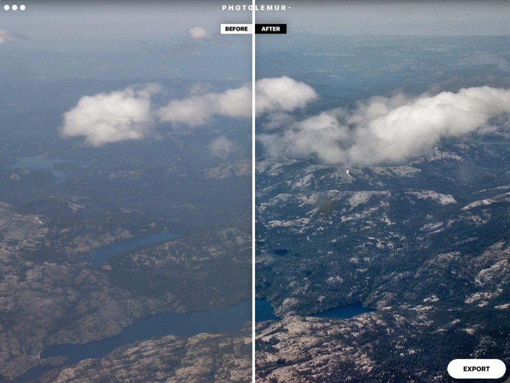 обработка фото в программе Photolemur