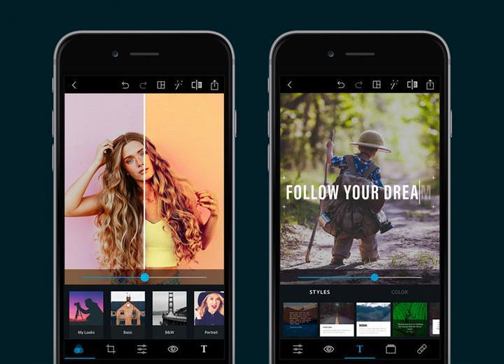 Adobe Photoshop express для смартфонов и планшетов