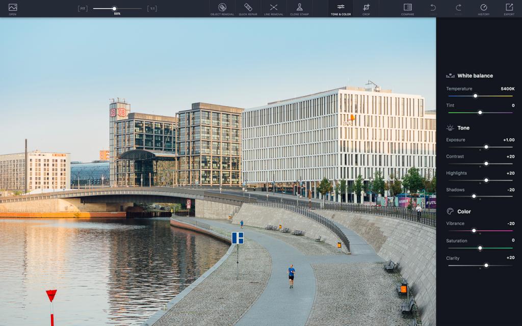 софт для обработки фото на ПК Touch Retouch