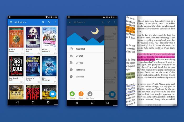 ТОП 9 приложений для чтения книг на Андроиде