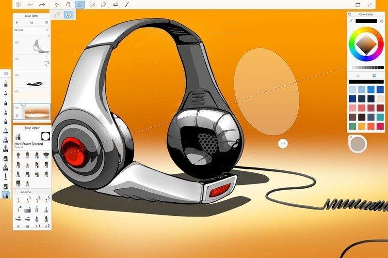 рисование на пк с помощью программы AutoDesk Sketchbook