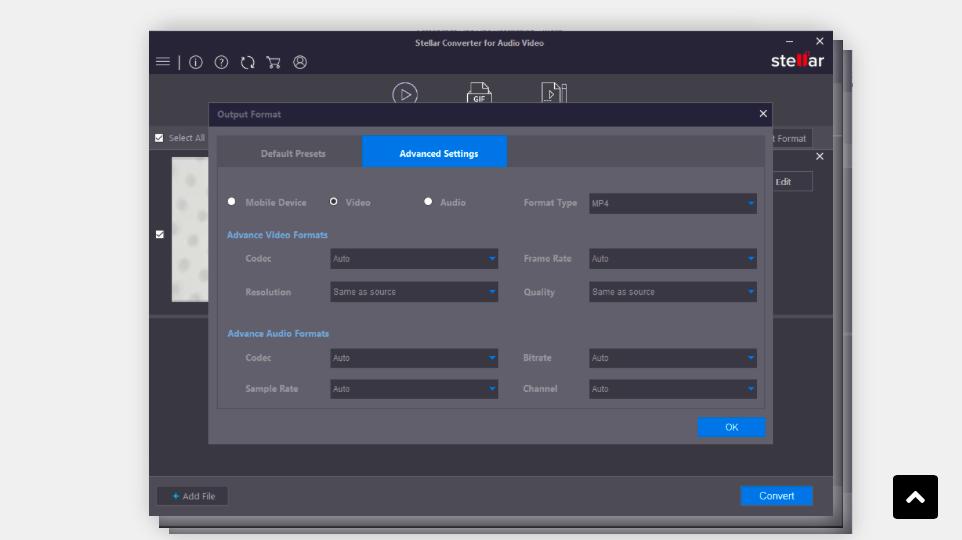 аудиоконвертер Stellar Converter for Audio Video
