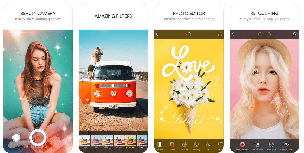 редактор фотоколлажей для смартфона Moldiv