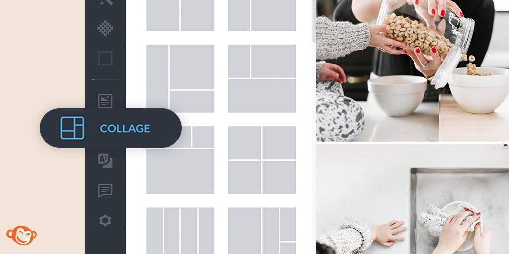 как создать коллаж из фото на ПК PicMonkey Collage