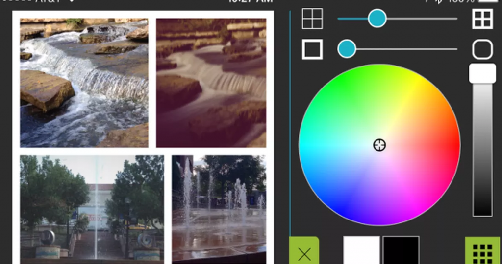 как создать коллаж на телефоне PicPlayPost