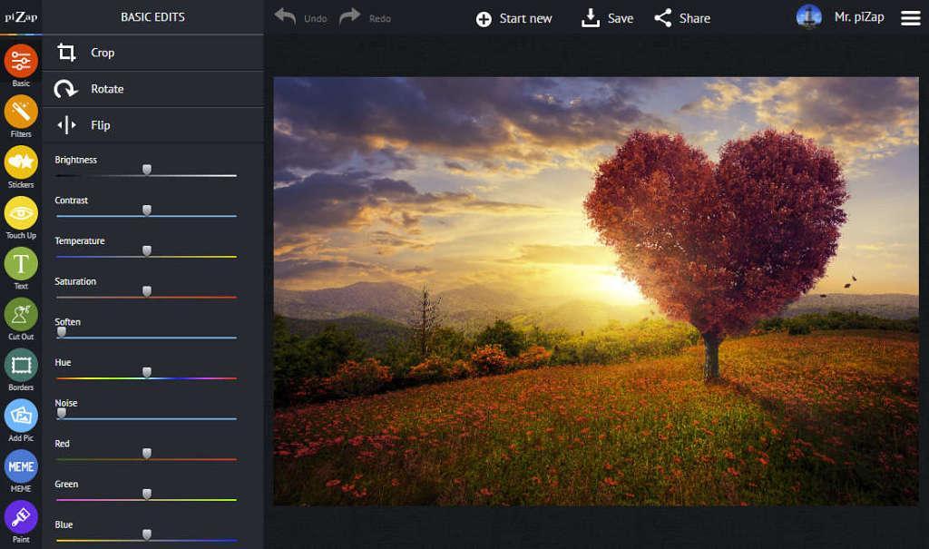 редактор для создания фотоколлажа бесплатный piZap