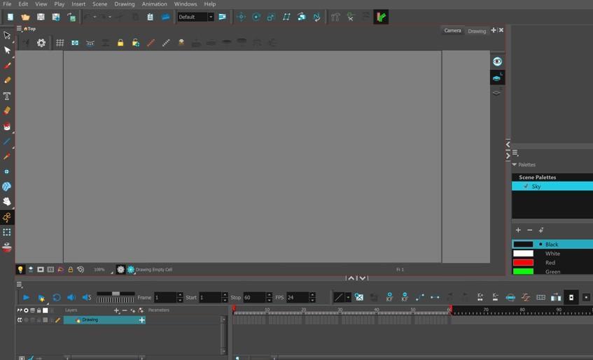 создание мультика на компьютере через программу Toon Boom Harmony