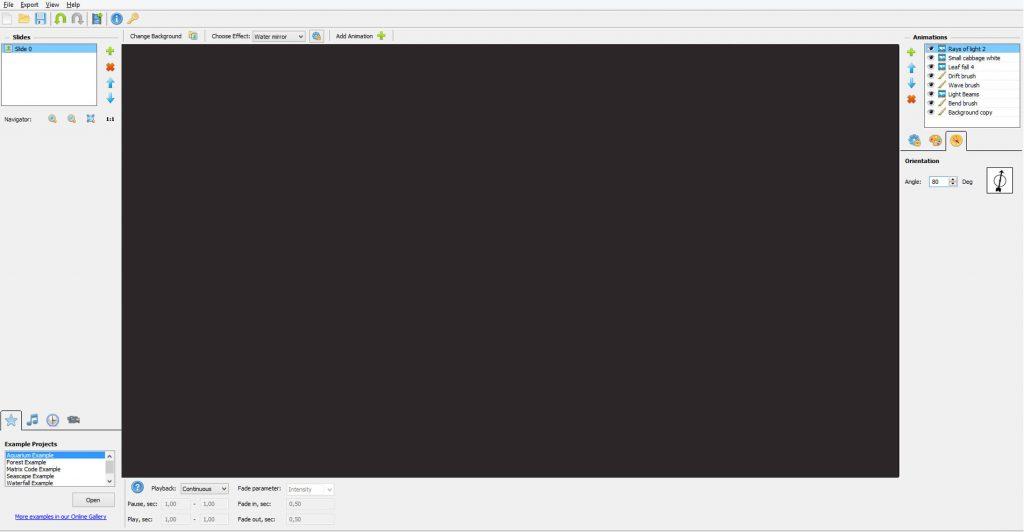 программа для анимации для новичков DP Animation Maker