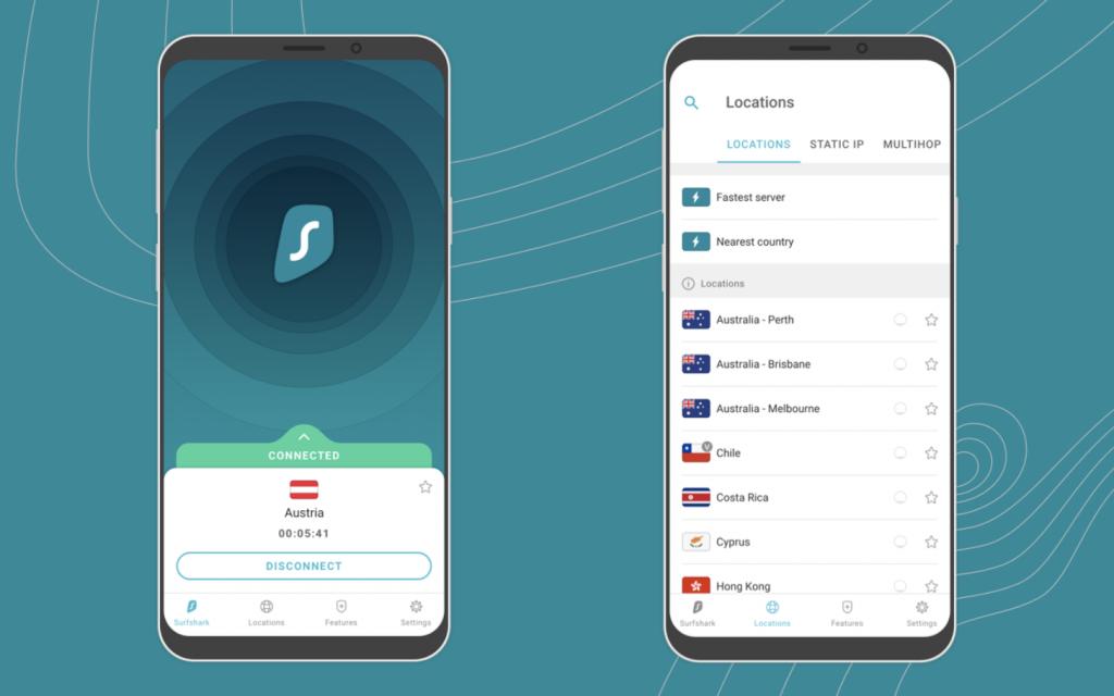 популярный vpn для android Surfshark