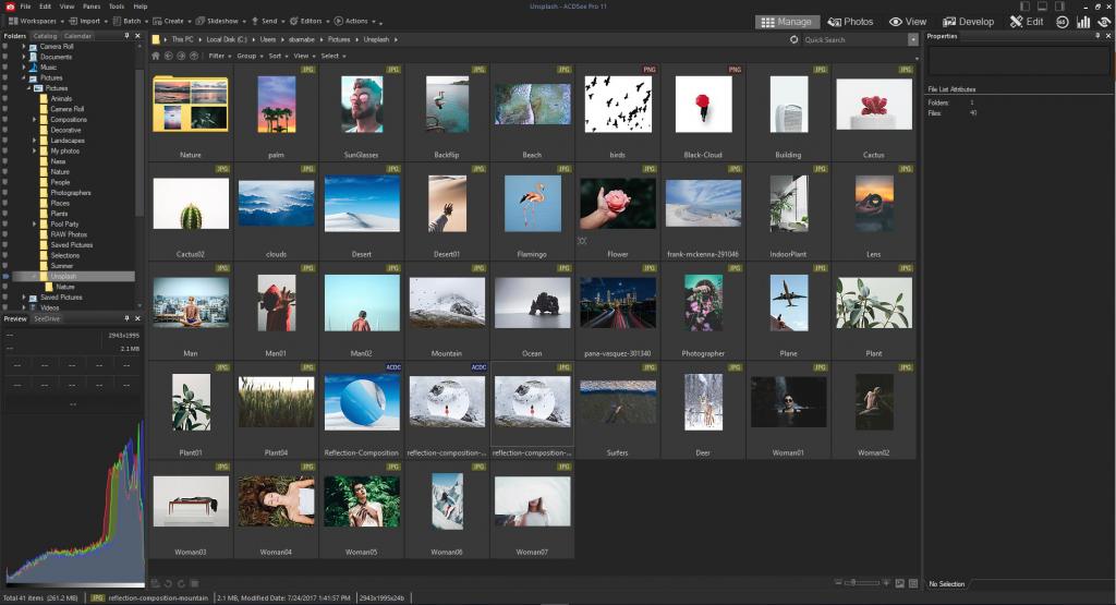 программа для просмотра фотографий на компьютере ACDSee Ultimate