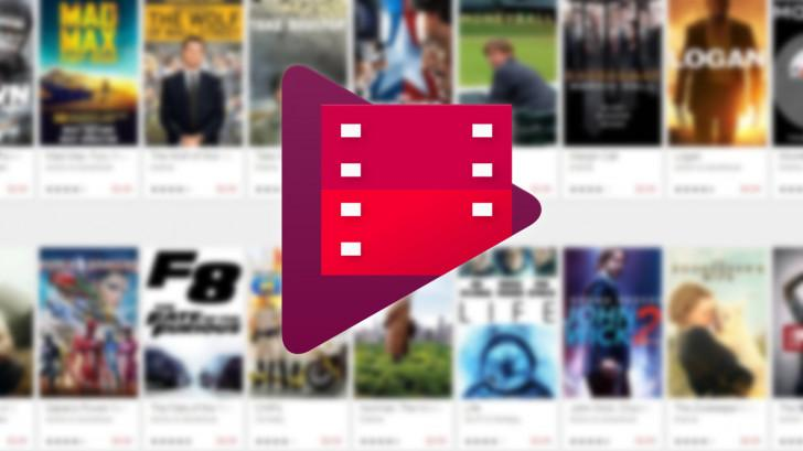 онлайн-кинотеатр Google Play Фильмы