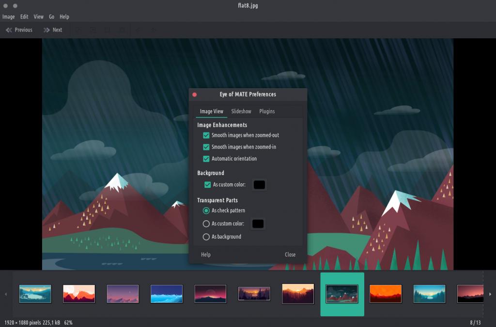 софт для просмотра фото для Linux